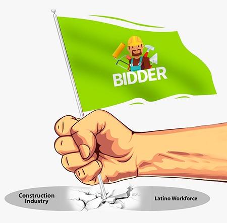 bidder-flag
